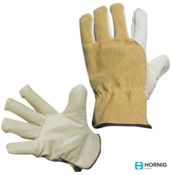 6078f10f2fb ČERVA rukavice pracovní HERON WINTER celokožené zimní vel.11 ...