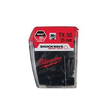 MILWAUKEE 4932352710 bit TRX50, 25mm Shockwave za cenu 19 Kč