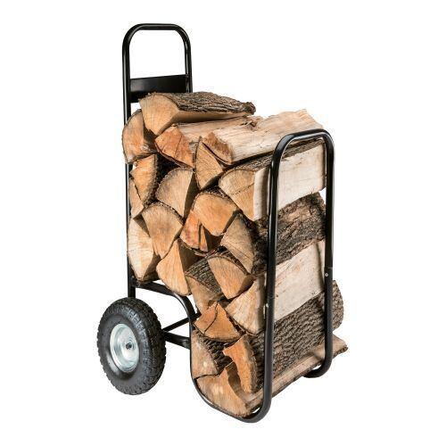 vozík na dřevo